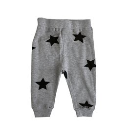 Little Mish Heather Stars Thermal Pant