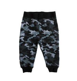 Little Mish Black Camo Thermal Pant