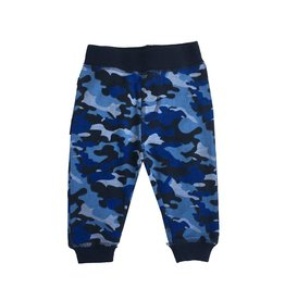 Little Mish Navy Camo Thermal Pant