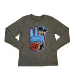 Californian Vintage Peace Hand Top
