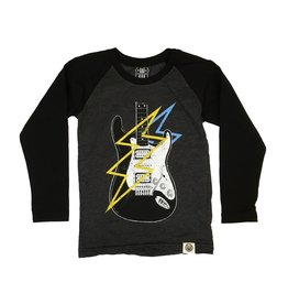 Wes & Willy Infant Electric Guitar Baseball Top