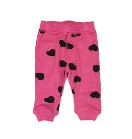 Little Mish Bubblegum Hearts Thermal Pant