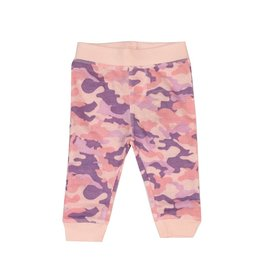 Little Mish Light Pink Camo Thermal Pant