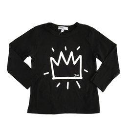 Joah Love Infant Crown Print Top