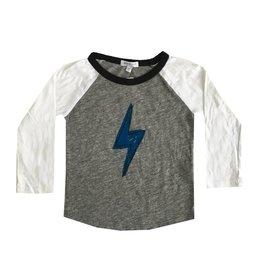 Joah Love Lightning Bolt Baseball Top