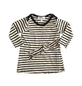 Joah Love Striped Ruffle Dress