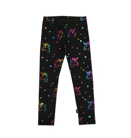Terez Rainbow Unicorn Foil Legging