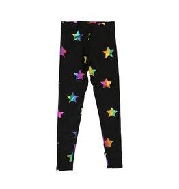 Terez Rainbow Stars Foil Legging