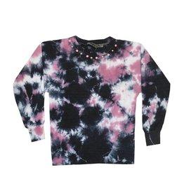 U Go Girl Tie Dye Studded Sweatshirt