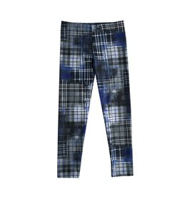 Dori Creations Blue Plaid Legging