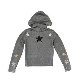 Firehouse Scattered Glitter Stars Hoodie