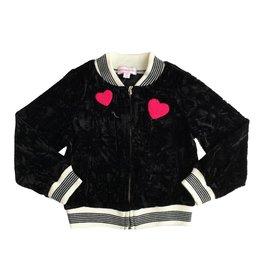Design History Black Crushed Velvet Jacket