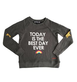 Peace Love World Best Day Ever Sweatshirt