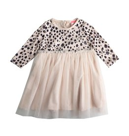 Mini Mini Leopard Printed Tulle Dress