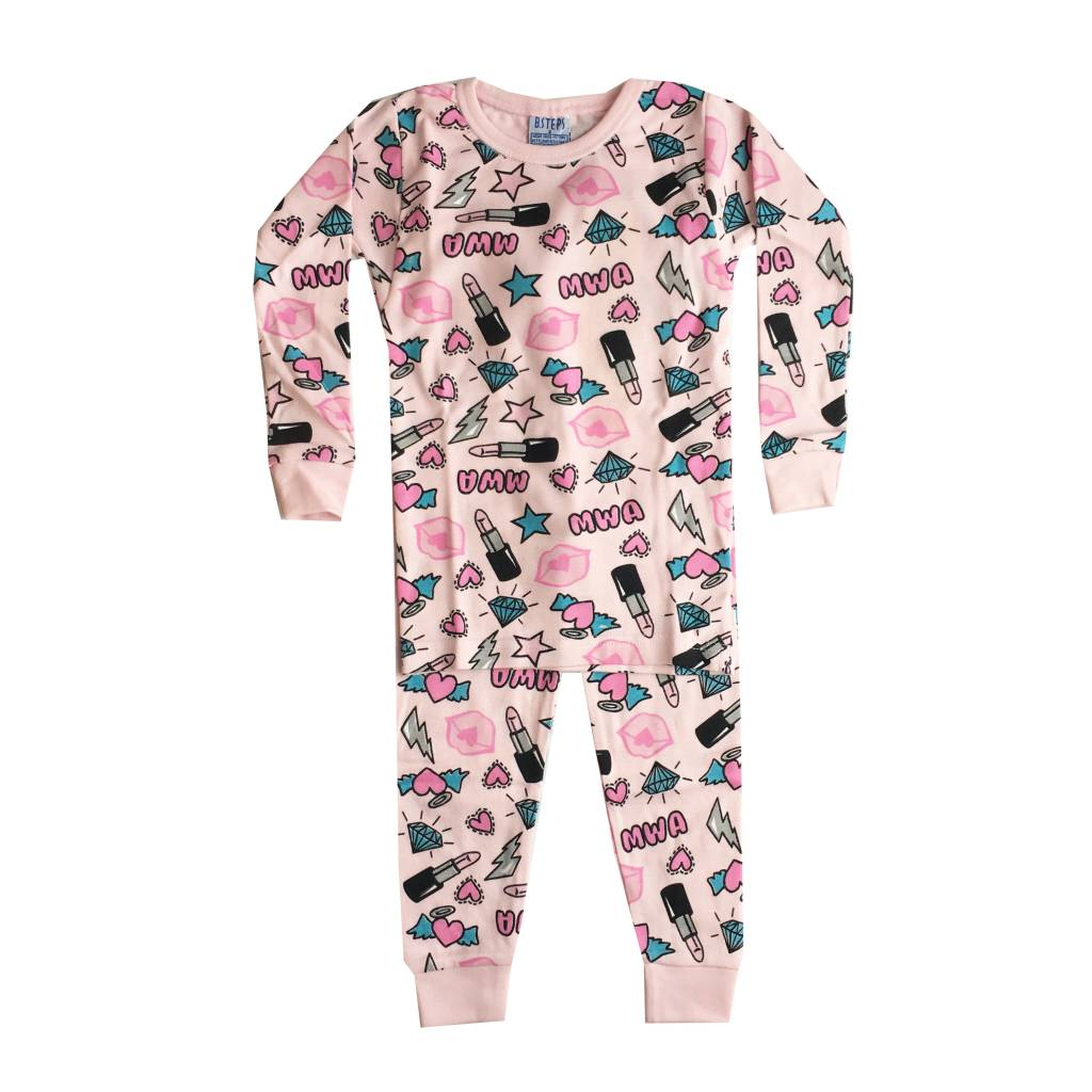Baby Steps Mwa 2pc Pajama Set
