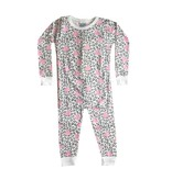 Baby Steps Leopard Hearts 2pc Pajama Set