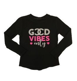 Good Vibes Only Thumbhole Thermal