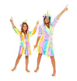 Malibu Sugar Rainbow Unicorn Robe