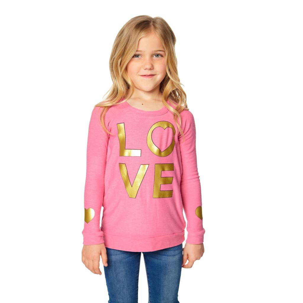 Chaser Golden Love Knit Pullover