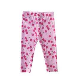 Social Butterfly Pink Cherry Leggings