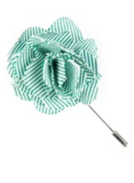 Tie Bar LP024 Little Stripe Lapel Pin - Green