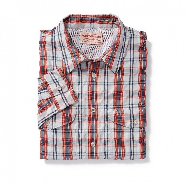 FILSON Twin Lakes Plaid Button Up