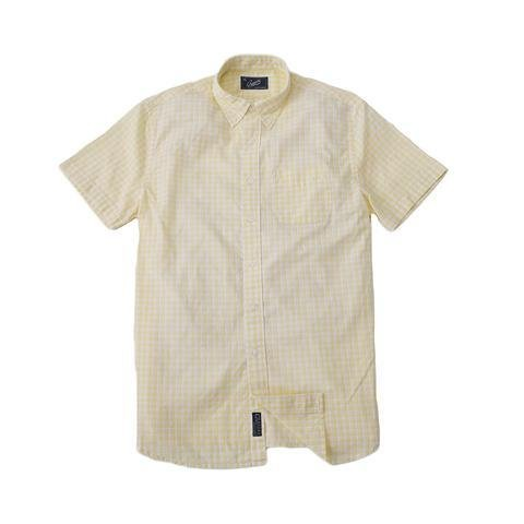 Grayers America Inc. W027S16YEL Grayers Cornsilk Yellow Button Up