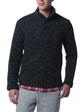 Grayers America Inc. Jennings Button Mock Neck