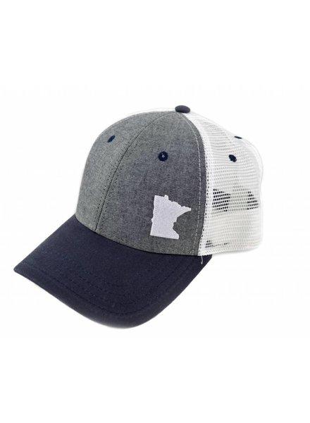 Beauty Status Hockey Co. MN Hats
