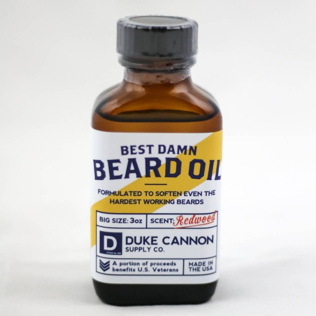 Duke Cannon Best Beard Oil