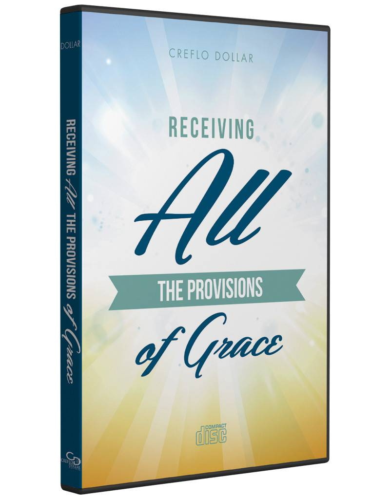 RECEIVING ALL THE PROVISIONS OF GRACE - CD