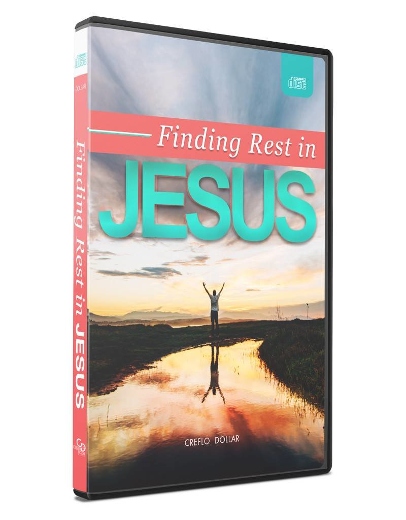 Finding Rest In Jesus- 2 CD Series