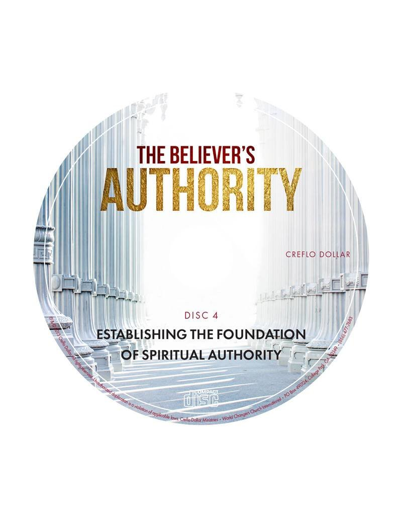 Establishing the Foundation of Spiritual Authority: Single DVD