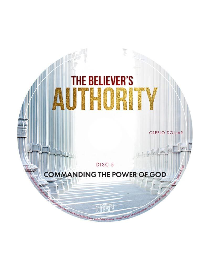 Commanding the Power of God: Single CD