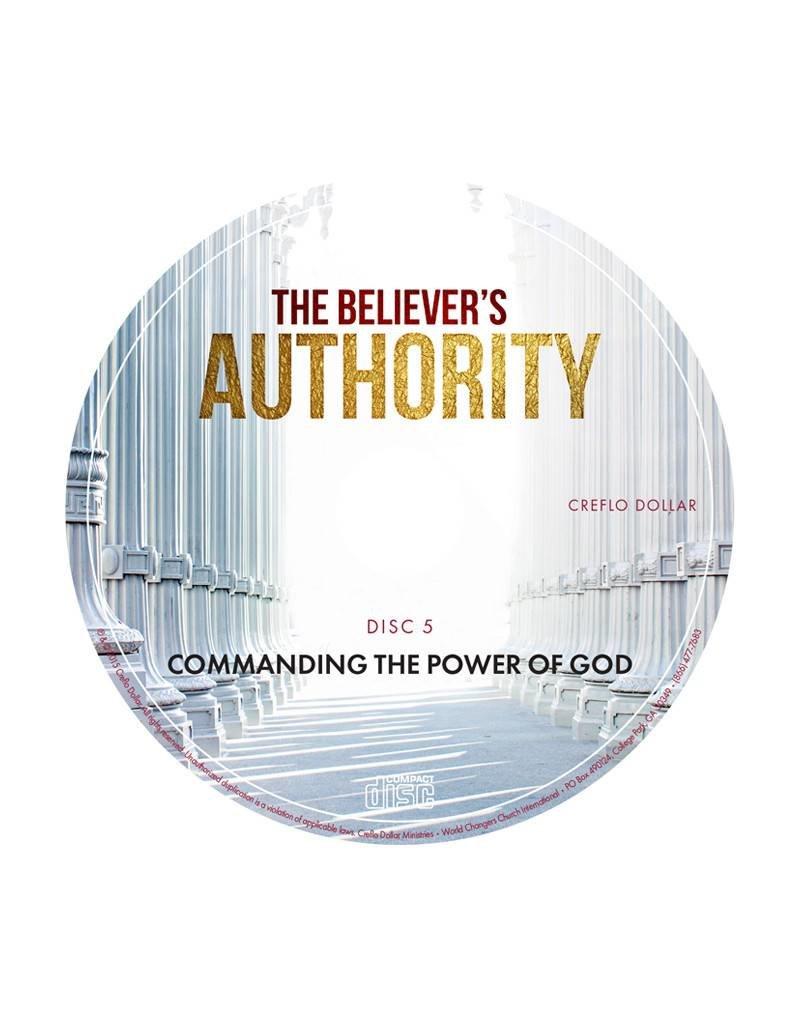 Commanding the Power of God: Single CD