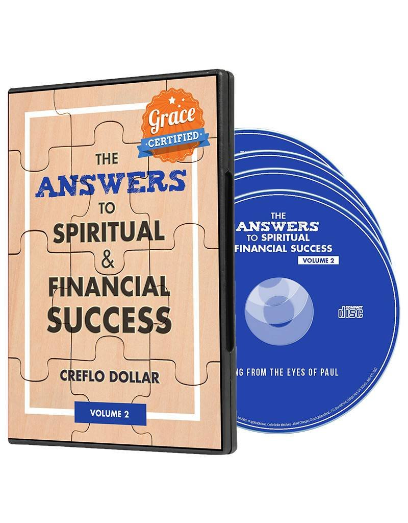 Answers to Spiritual and Financial Success - Volume 2: 4-DVD Series