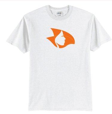 Arrow Records Radical Head T-Shirt White/Orange 3X-Large