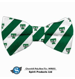 Bowtie Green and White Stripes and Power T/Trinity