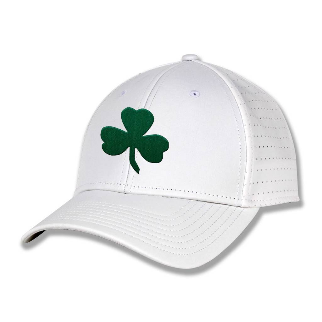 The Game Shamrock Hat with Rocks on Side
