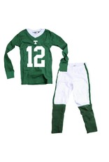 Wes & Willy Football Cotton Pajamas