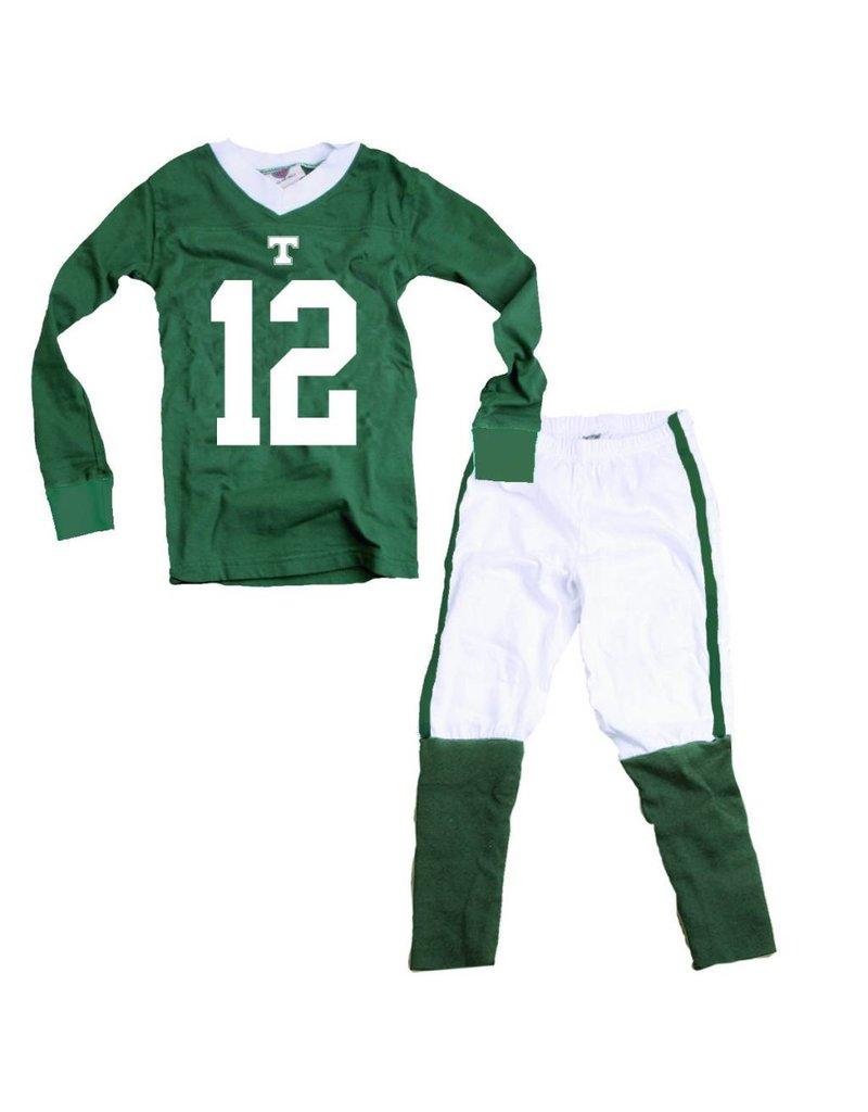 Wes & Willy Football Pajamas