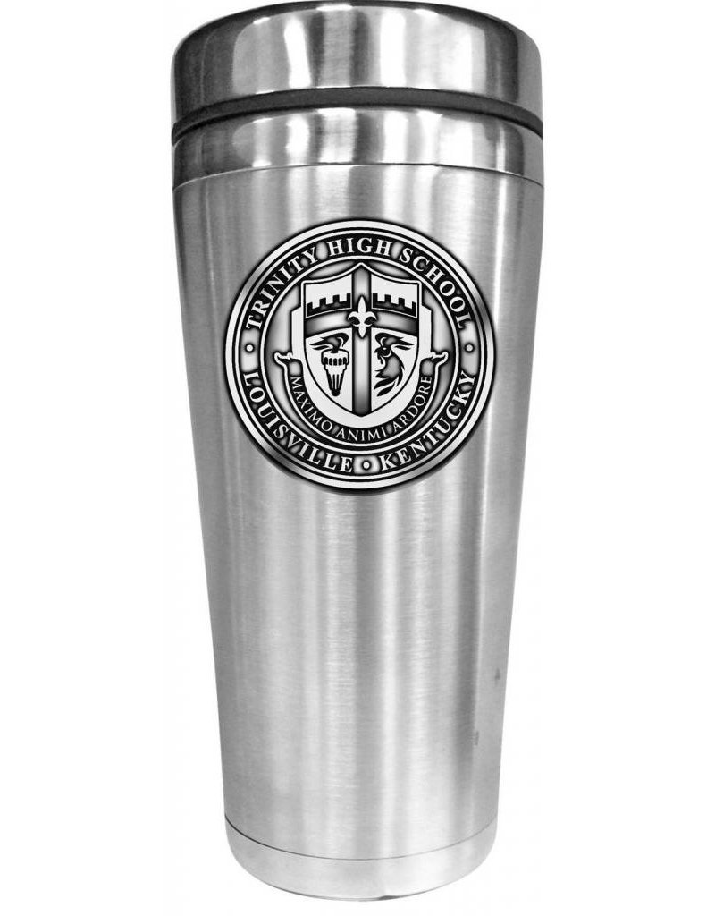 Tumbler Stainless Interior With Crest