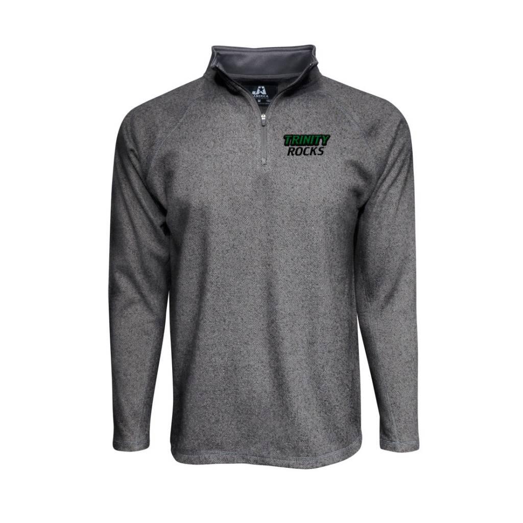 J America Micro-Fleece 1/4 Zip Pullover
