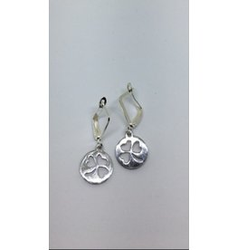 McTickets Earrings Shamrock Dime