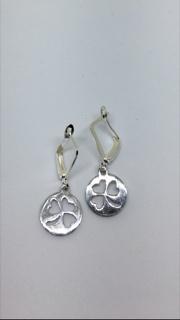 McTickets Earrings Shamrock Dime/Shamrocks