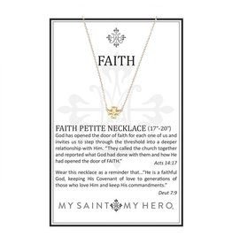 My Saint My Hero Faith Necklace