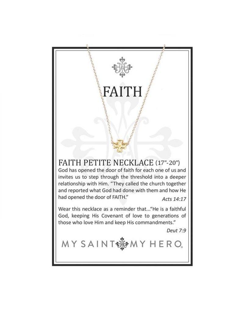 My Saint My Hero Faith Necklace