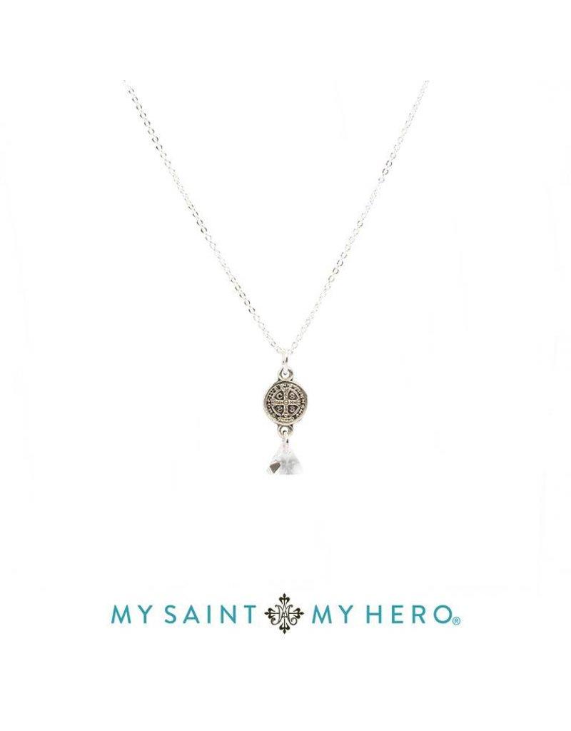 My Saint My Hero Trinity Necklace