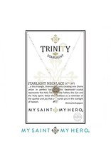 My Saint My Hero Trinity Necklace