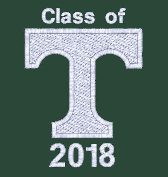 Charles River Senior 1/4 Zip Sweatshirt Class of 2018